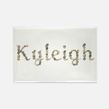 Kyleigh Seashells Rectangle Magnet