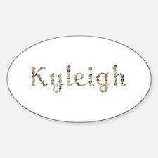 Kyleigh Seashells Oval Decal