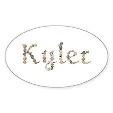 Kyler Seashells Oval Decal