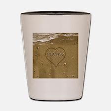Justine Beach Love Shot Glass