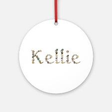 Kellie Seashells Round Ornament