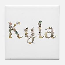 Kyla Seashells Tile Coaster