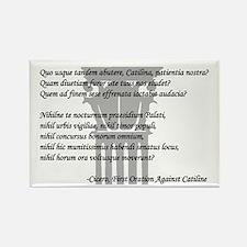 """Quo usque tandem..."" Rectangle Magnet (10 pack)"