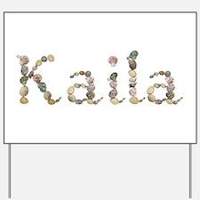 Kaila Seashells Yard Sign