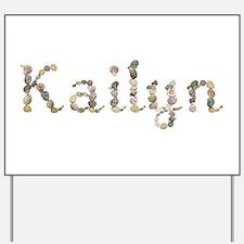Kailyn Seashells Yard Sign