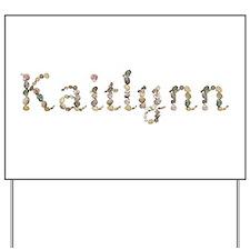 Kaitlynn Seashells Yard Sign