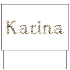 Karina Seashells Yard Sign
