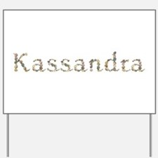 Kassandra Seashells Yard Sign