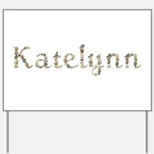 Katelynn Seashells Yard Sign