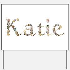 Katie Seashells Yard Sign