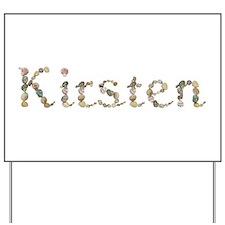 Kirsten Seashells Yard Sign