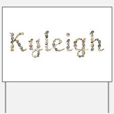 Kyleigh Seashells Yard Sign