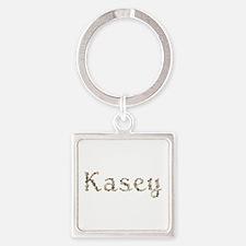 Kasey Seashells Square Keychain