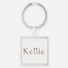 Kellie Seashells Square Keychain