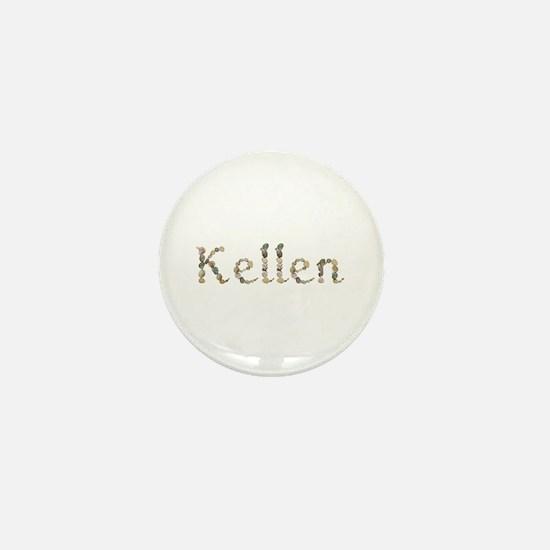 Kellen Seashells Mini Button