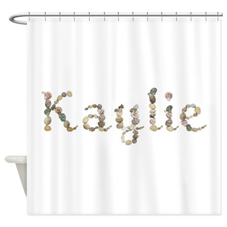 Kaylie Seashells Shower Curtain By Namestuff Shells Jl