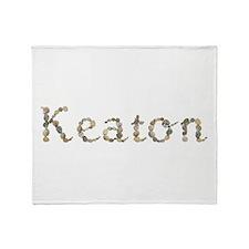 Keaton Seashells Throw Blanket