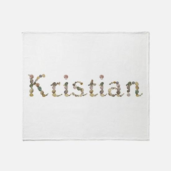 Kristian Seashells Throw Blanket
