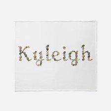 Kyleigh Seashells Throw Blanket