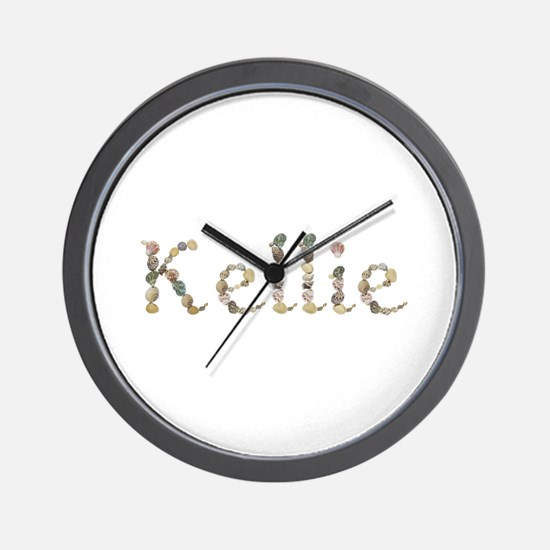 Kellie Seashells Wall Clock