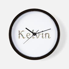 Kelvin Seashells Wall Clock