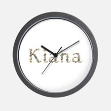 Kiana Seashells Wall Clock