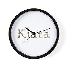 Kiara Seashells Wall Clock