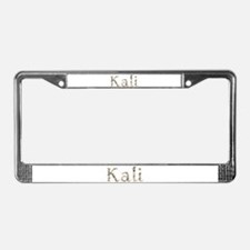 Kali Seashells License Plate Frame