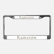 Kameron Seashells License Plate Frame