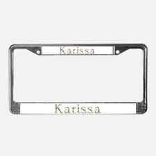 Karissa Seashells License Plate Frame