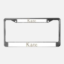 Kate Seashells License Plate Frame