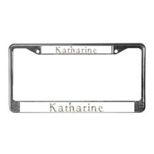 Katharine Seashells License Plate Frame