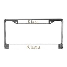 Kiara Seashells License Plate Frame