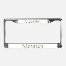 Kiersten Seashells License Plate Frame