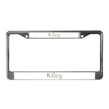 Kiley Seashells License Plate Frame