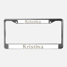Kristina Seashells License Plate Frame