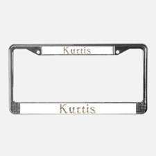Kurtis Seashells License Plate Frame