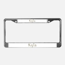 Kyla Seashells License Plate Frame