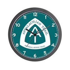 Appalachian Trail, Virginia Wall Clock