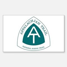 Appalachian Trail, Virginia Sticker (Rectangle)