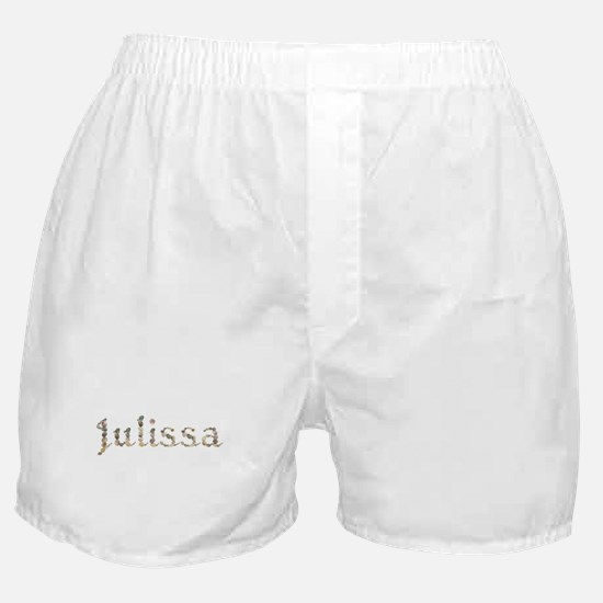 Julissa Seashells Boxer Shorts
