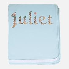 Juliet Seashells baby blanket