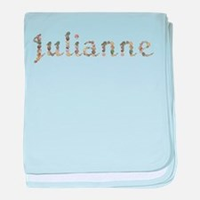Julianne Seashells baby blanket