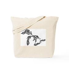 Funny Michigan Tote Bag