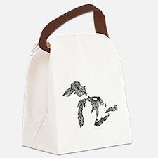 Unique Upper peninsula michigan Canvas Lunch Bag
