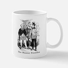 The Master Presides. Small Small Mug