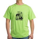 The Master Presides. Green T-Shirt