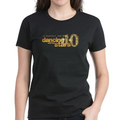 DWTS Perfect Ten Women's Dark T-Shirt