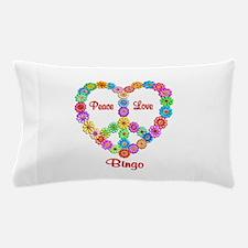 Bingo Peace Love Pillow Case
