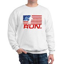 RUNNING IN THE U.S.A Sweatshirt